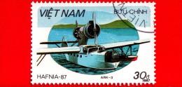 VIETNAM - Viet Nam - 1987 - Mostra Filatelica Internazionale - HAFNIA'87 - Aliscafi - Tschetwerikow ARK-3-2 - 30 - Vietnam