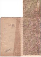 CARTE - TOPOGRAPHIQUE - GAP - EMBRUN - BRIANCON - SAINT NAZAIRE EN ROYAN -  DIE - BOURG D´OISANS - - Cartes Topographiques