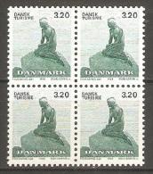 Blocs De 4 Timbres Danemark 1989 ( Neufs** ) - Denmark