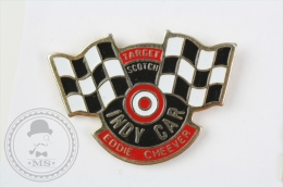 Indy Car Eddie Cheever - Target Scotch - Pin Badge #PLS - Pin