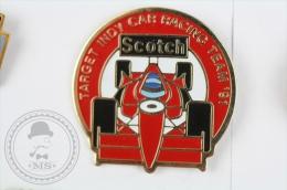 Target Indy Car Racing Team 1991, Scotch - Pin Badge #PLS - Pin