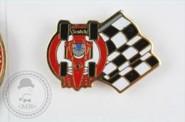 Indy Car Racing, Scotch - Pin Badge #PLS - Pin