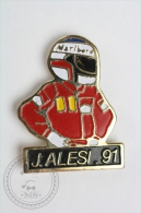 Jean Alesi 1991 F1 Pilot  - Pin Badge #PLS - Pin