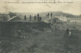 Warmifontaine - Affaissement Général Du Sol, 43 M De Larg Et 200m De Long - 1913 ( Voir Verso ) - Neufchâteau
