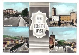 Saluti Da Cerreto D'esi NON VIAGGIATA C.1863 - Italia