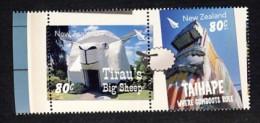 Nouvelle Zélande 2014 Legendary Landmarks Tirau's Big Sheep   Taihape Where Comboots Rule  Mouton - New Zealand