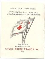 FRANCE Carnet CROIX ROUGE 1955 Premier Choix TBE Gomme Neuve - Cruz Roja