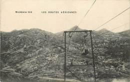 Pays Divers- Macedoine  -ref C816- Macedoine 1916- Les Routes Aeriennes - Telepherique    -carte Bon Etat - - Macedonia