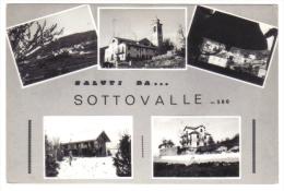 Saluti Da Sottovalle  VIAGGIATA Anni 60 Ma Francobollo Rovinato  C.1867 - Italia