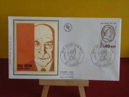 FDC - Marx Jacob 1876/1944 - 29 Quimper - 22.7.1976 - 1er Jour - FDC