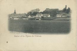 Latour Et Les Ruines Du Château Et ... Vue Du Village  ( Voir Verso ) - Virton
