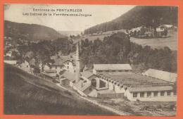Oct222, Environs Pontarlier, Les Usines De La Ferrière-sous-Jougne, Non Circulée - Pontarlier