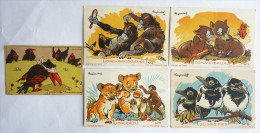 5 CHROMOS Différents ANIMAUX - RAY LAMBERT - Dont 4 ART ET TOURISME - Sonstige