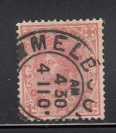 Victoria Used Scott #194 1p Victoria, Rose Red - 1850-1912 Victoria
