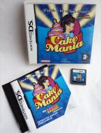 JEU NINTENDO DS - CAKE MANIA Inclut L'extention RETOUR A LA PATISSERIE - Nintendo Game Boy