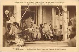 Pays Divers-japon -japan-ref C743- Yokohama - Le Marechal Joffre Chez Les Dames De St Maur - Carte Bon Etat  - - Yokohama