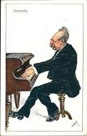 Postcard RA001370 - Alfred Grünfeld - Chanteurs & Musiciens