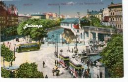 Berlin - Hochbahn, Hallesches Tor Und Tempelhofer Ufer - Tempelhof