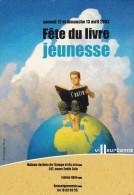 Carte Postale Fête Du Livre Jeunesse Villeurbanne 2003 - Manifestazioni