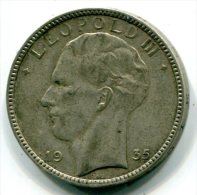 BELGIQUE - 20 Francs Leopold III 1935 - ET 003 - 07. 20 Francs
