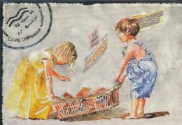 Carte Postale Salon De La Carte Postale Aubagne 2003 - Bourses & Salons De Collections
