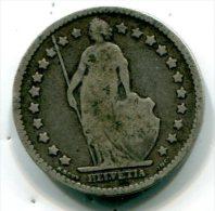 SUISSE - 1 Franc 1875 - Argent - Silver Coin - ET 007 - Schweiz