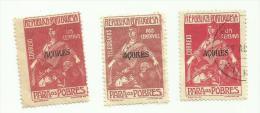 Portugal Açores N°195 à 197 Côte 7.55 Euros - Azores