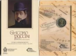 2 Euro Commémorative San Marin 2014 Puccini - San Marino