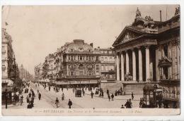 BELGIQUE . BELGIË . BRUXELLES . LA BOURSE ET LE BOULEVARD ANSPACH - Réf. N°3431 - - Monuments