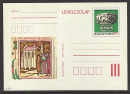 HUNGARY - 1979.Postal Stationery - 900th Anniversary Of DÖMÖS/Illuminated Chronicle MNH!! Cat.No.279. - Entiers Postaux