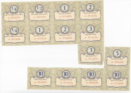 Moldova  ; Moldavie  ; Moldau  ; 1994 ; Bon-profit Privatization  Tickets - Tickets - Vouchers
