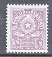 PARAGUAY  647   *    Wmk. P R    1962-8   Issue - Paraguay