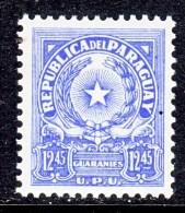 PARAGUAY  653   *    Wmk. P R    1962-8   Issue - Paraguay