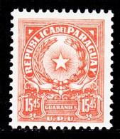 PARAGUAY  654   *    Wmk. P R    1962-8   Issue - Paraguay
