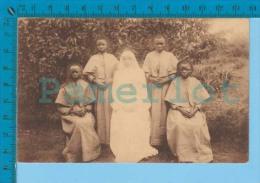 Beaudoinville Haut-Congo (  Premières Soeurs Indigènes, Religieuse ) Post Card Carte Postale Recto/verso - Congo Belge - Autres