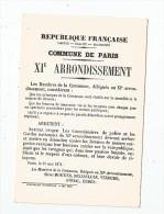 Cp , LA COMUNE DE PARIS , 1871 , Musée De L'affiche Et Du Tract , XI E Arrondissement , Vierge , Ed : Detersannes - Storia