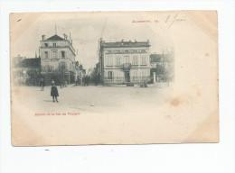Cp , 89 , AUXERRE , Entrée De La Rue Du Temple , Dos Simple , Voyagée 1902 - Auxerre