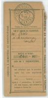 Coupon De Mandat  Du 2/3/1932 Obli De Chaussenac  Dans Le Cantal - Autres