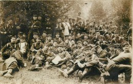 Carte Photo - ** Groupe De Poilus Du 79 ème Régiment D´Infanterie De Nancy ** - Voir 2 Scans. - War 1914-18