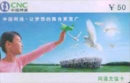 China netcom prepaid cards--guangxi province: paper folding (1pcs)
