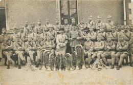 Carte Photo - ** Musique Du 27 ème Régiment D'Infanterie De Dijon **  - Voir 2 Scans. - Weltkrieg 1914-18