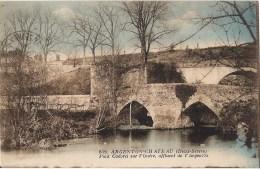 ARGENTON CHATEAU PONT CADORET SUR L'OUERE AFFLUENT DE L'ARGENTON CPA NO 819