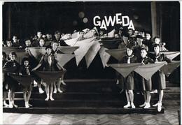 GAWEDA    Groupe  Photo 15 Cm X 10.5cm - Lieux