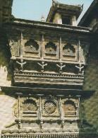Carved Window,  Pujarimath Bhaktapur  Nepal.   # 03817 - Nepal
