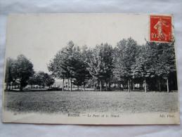 CPA Ancienne Carte Postale  MACON 71 Vue Du Parc  Etat Excellent Circulée - Macon