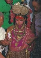 Kumari ( Living Goddess )  Nepal.   # 03819 - Nepal