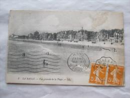 CPA Ancienne Carte Postale LA BAULE 44 Vue Générale De La Plage  Etat Excellent Circulée 1922