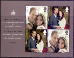 GREAT BRITAIN     Royal Wedding 2011 S/S MNH - Unused Stamps