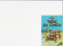 CARTE POSTALE TINTIN AU CONGO - Ansichtskarten
