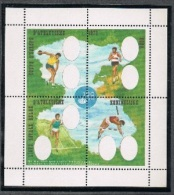 Année 1973 -   E127-Cu** -  Feuillet Sans Les Têtes  Et Texte Partiel - Cote  30,00€ - Erinnophilie